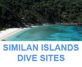 Information Similan dive sites